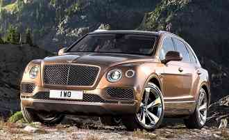 Bentley Bentayga Sport Utility Vehicle